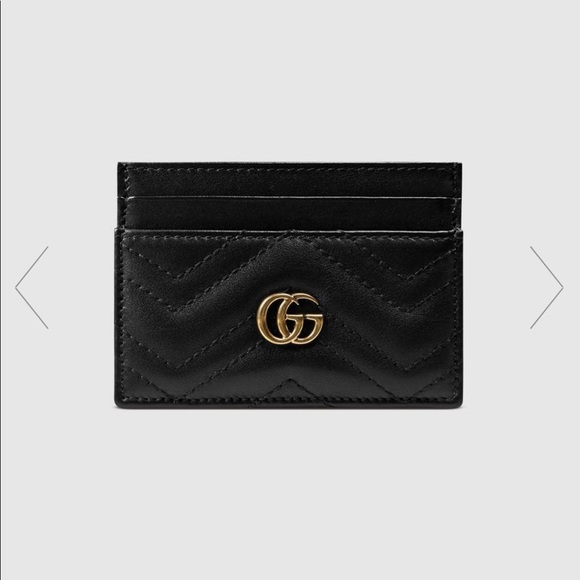 7574928cfed6b6 Gucci Accessories | 100 Authentic Marmont Card Holder Wallet | Poshmark